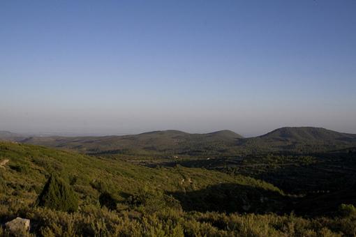 Vistas de el paisaje de Alcublas