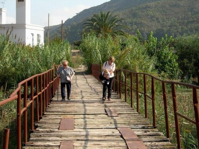 Puente en Bugarra