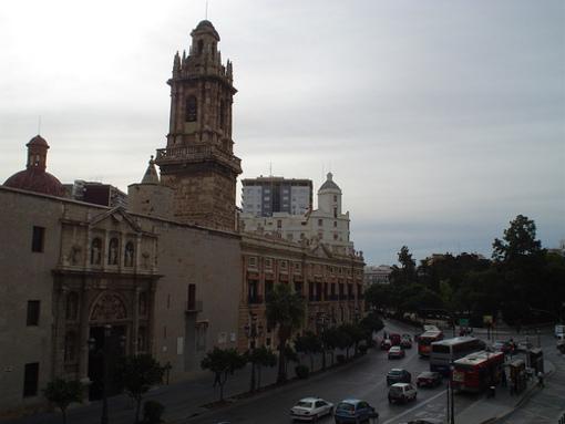 Vistas de la plaza de Albuixech