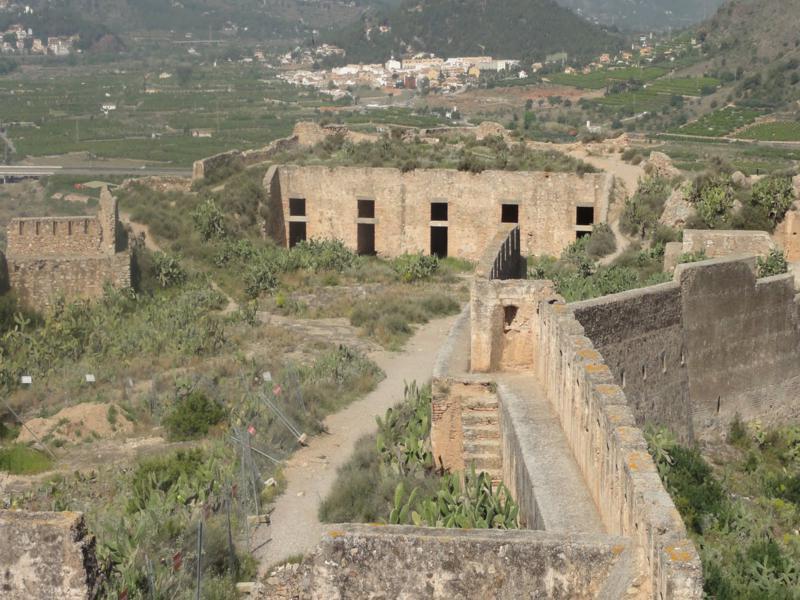 Murallas del castillo de Sagunto