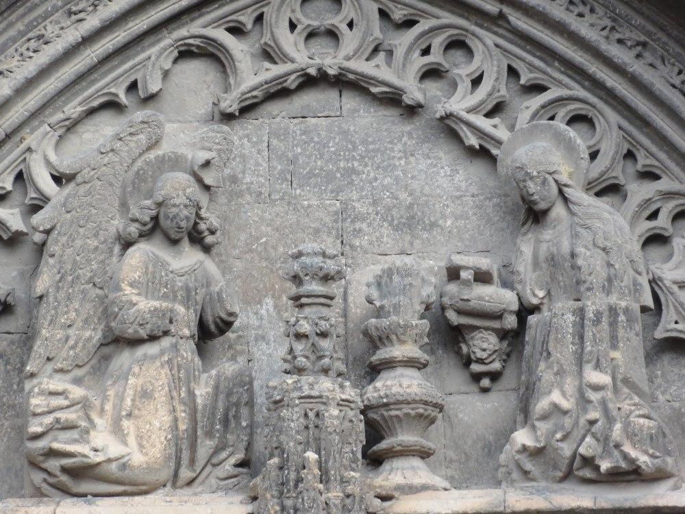 Timpano de Sta. Maria de Requena