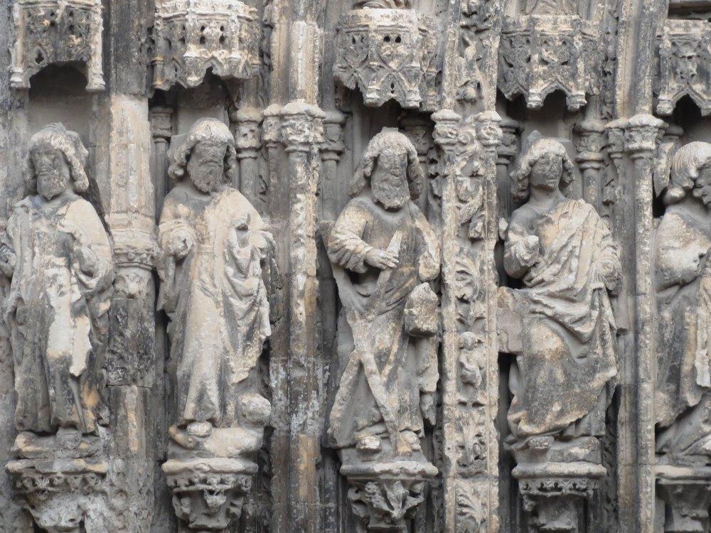 Detalle portico Sta. Mª Requena