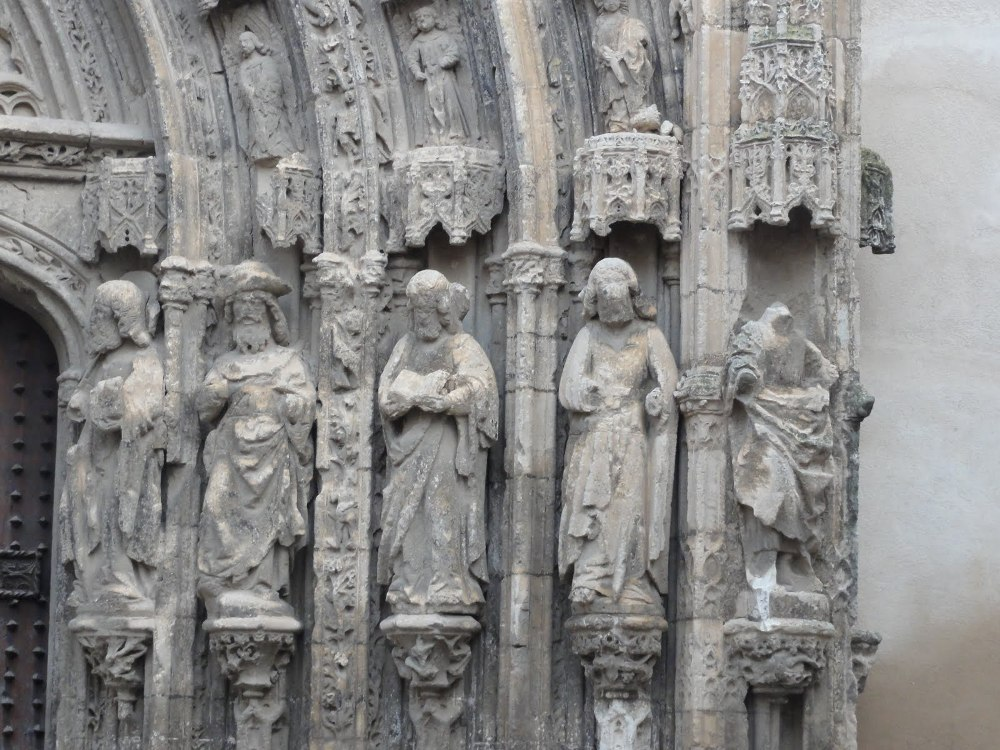 Apostoles de la Iglesia de Sta. Maria de Requena