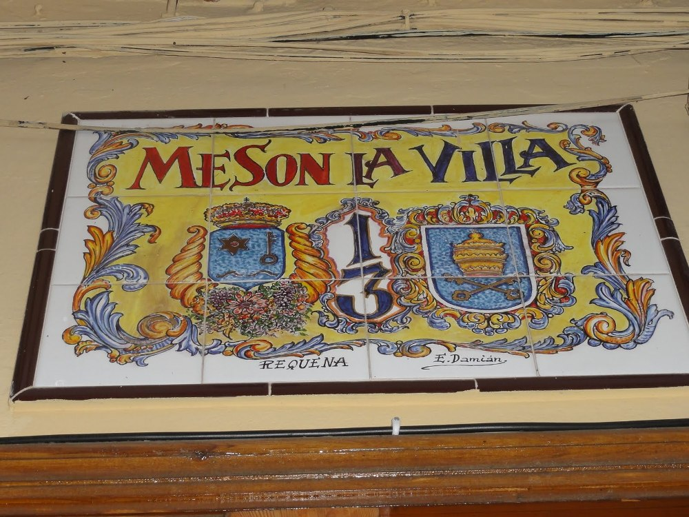 PLaca Meson de la Villa de Requena