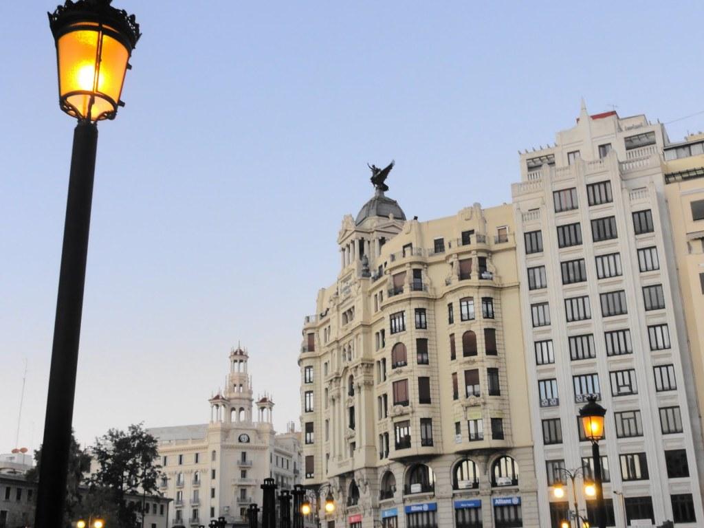 Edificio La Unión y el Fénix de Valencia