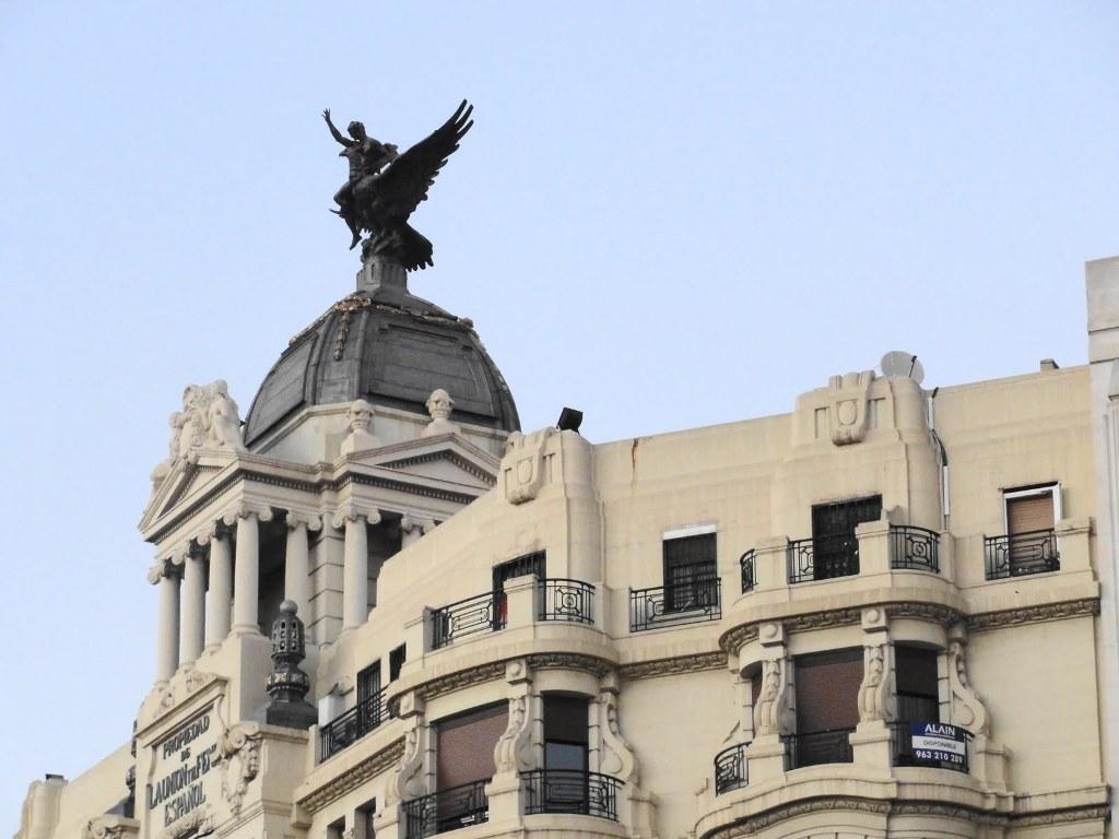 Simbolo de La Unión y el Fénix, Valencia capital