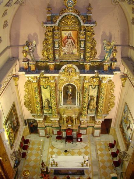 Altar Mayor de la Iglesia de Jalance