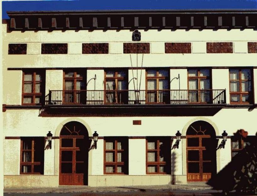 Alberique Fachada del nuevo ayuntamiento