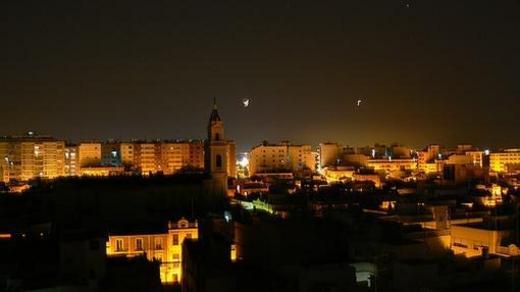 Alzira de noche
