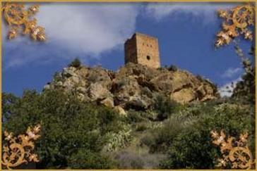El castillo de Almenara Castellon