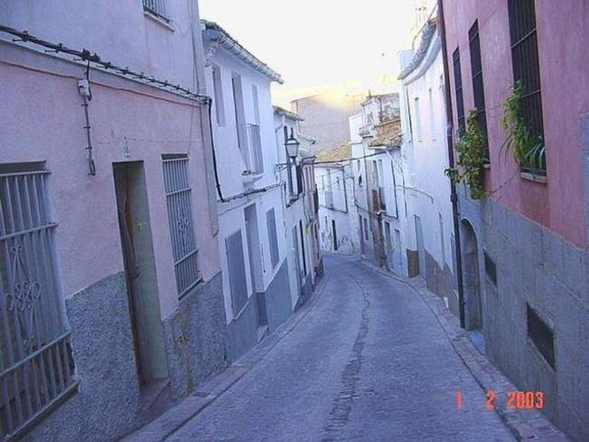 Calle De pueblo Valenciano