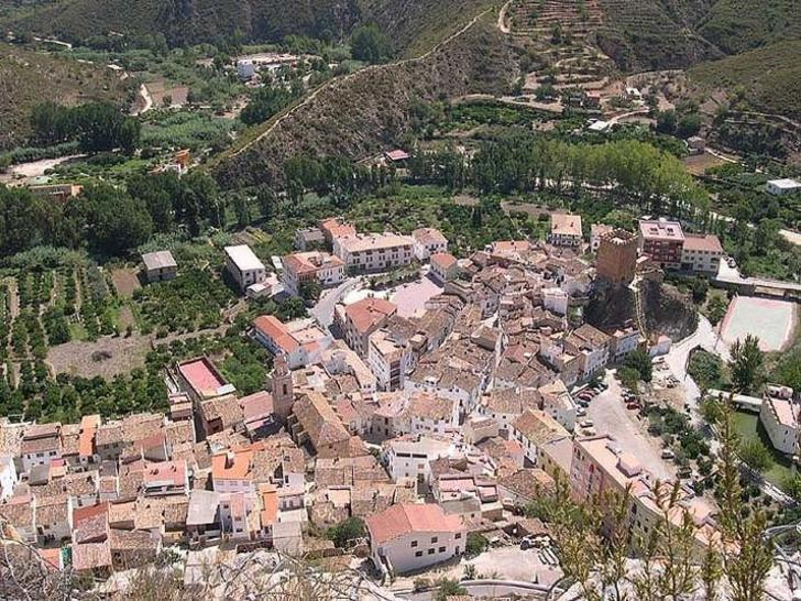 Sot de Chera vista pueblo