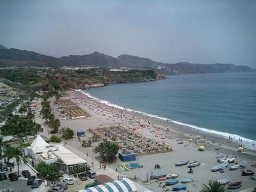 Playa Nerja Burriana