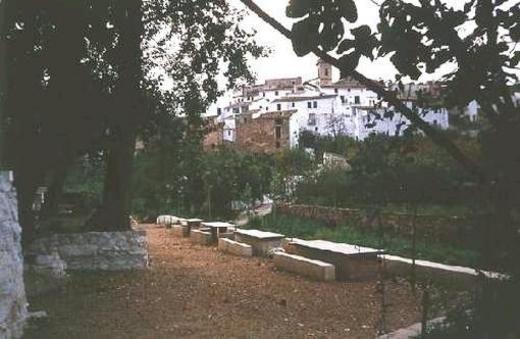 Ahín - Ain desde la Fuente de San Ambrosio