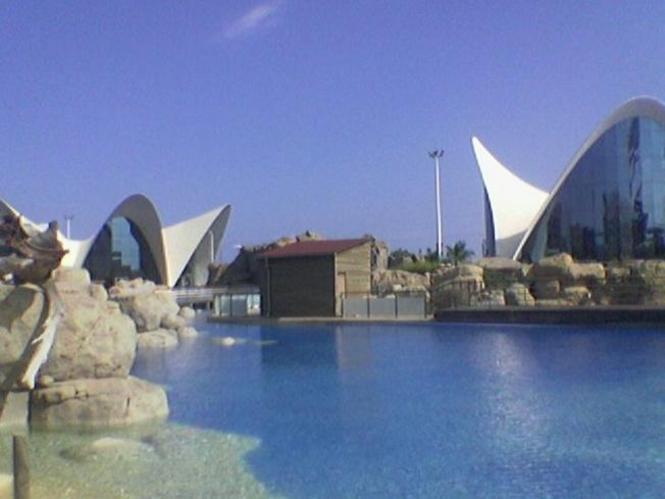 Pabellones del Oceanografico Valenciano