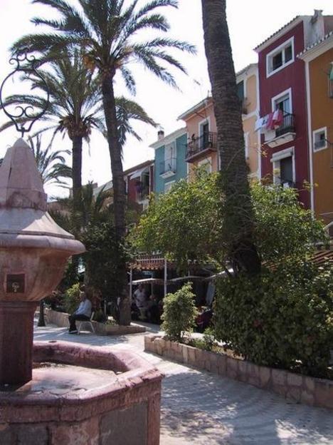 Calle típica de Villajoyosa