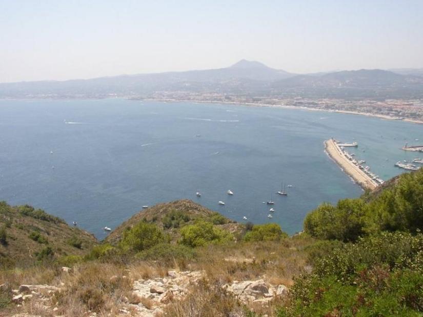 Xàbia des del Cap de Sant Antoni