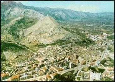 Cocentaina es la capital de la comarca del Comtat (El Condado),