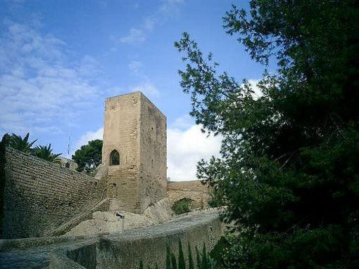 La torreta del Castillo Santa Bárbara