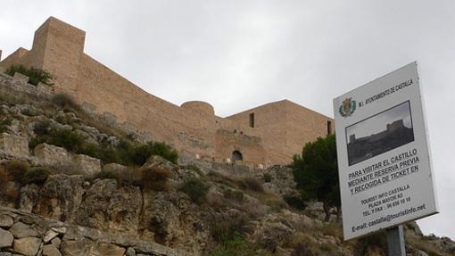 Vista des d'Abaj del Castillo de Castalla