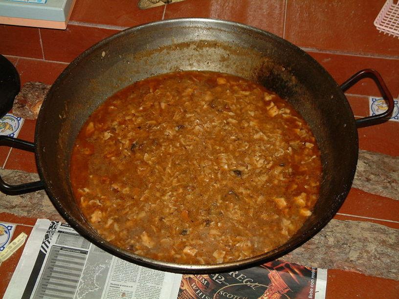 Platos tipicos de Castalla: Gaspacho Manchengos