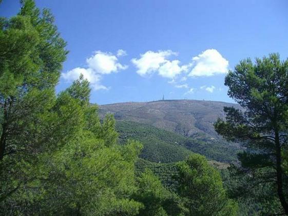 Cima de la Sierra Aitana, Alicante