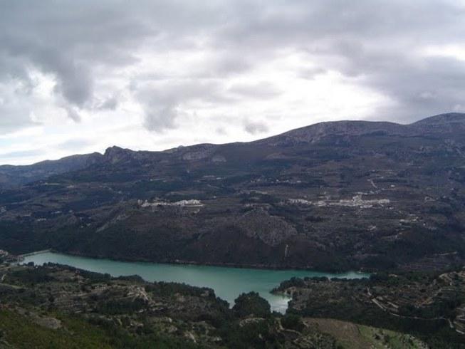 Vista de la Vall de Guadalest