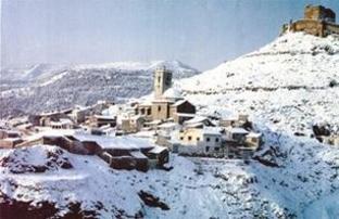 Jalance situado en la comarca del Valle de Ayora-Cofrentes