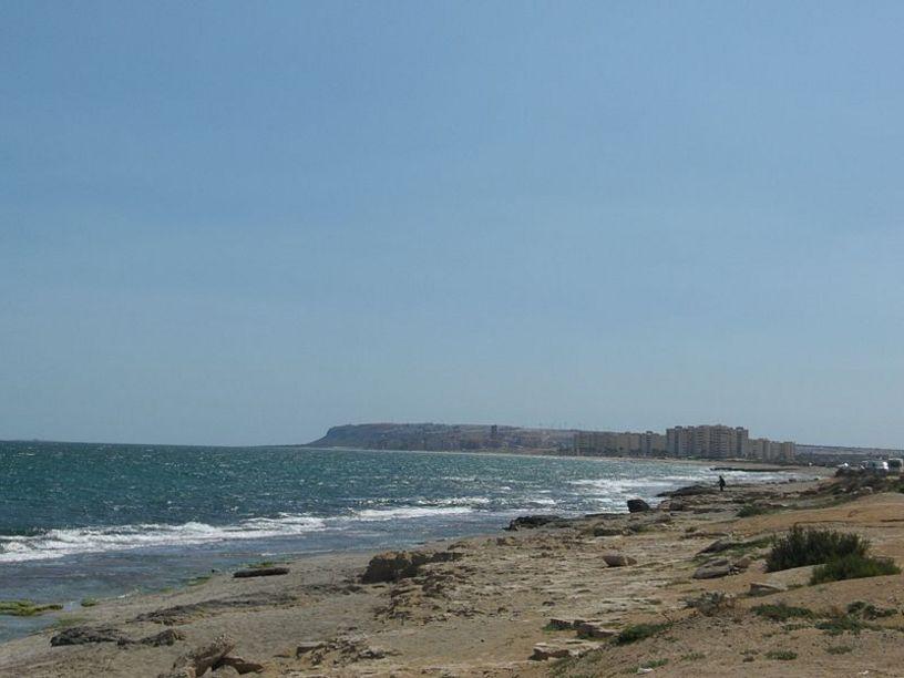Playa amarga en Alicante