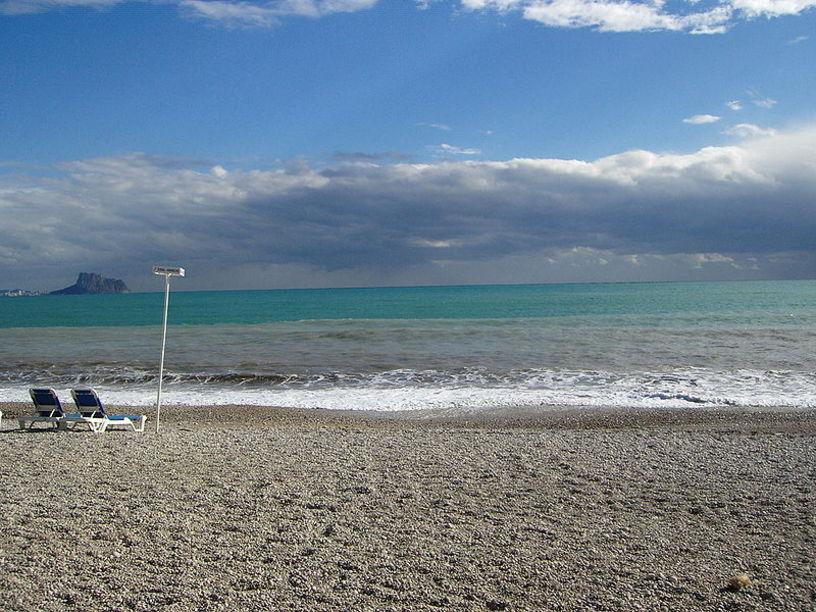 Playa del Racó del Albir, municipio de Alfaz del Pi