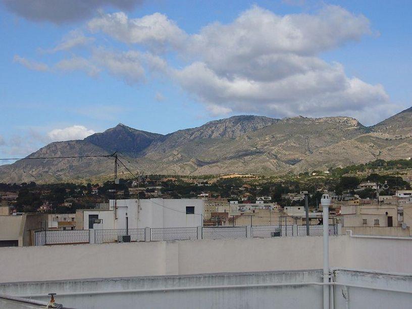 Vista de la Sierra Crevillente