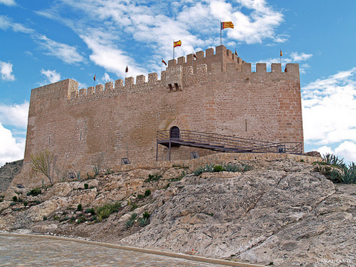 Entrada al Castillo de Petrel