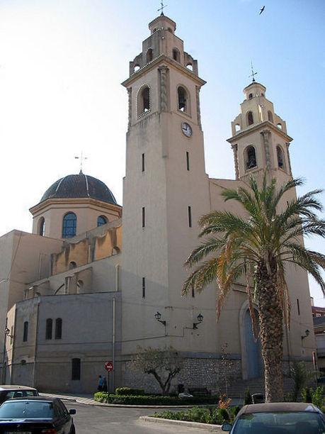 Fachada de la Iglesia de Santa Ana en Elda