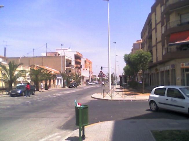 Vista de la Avenida Cartagena en el Altet.