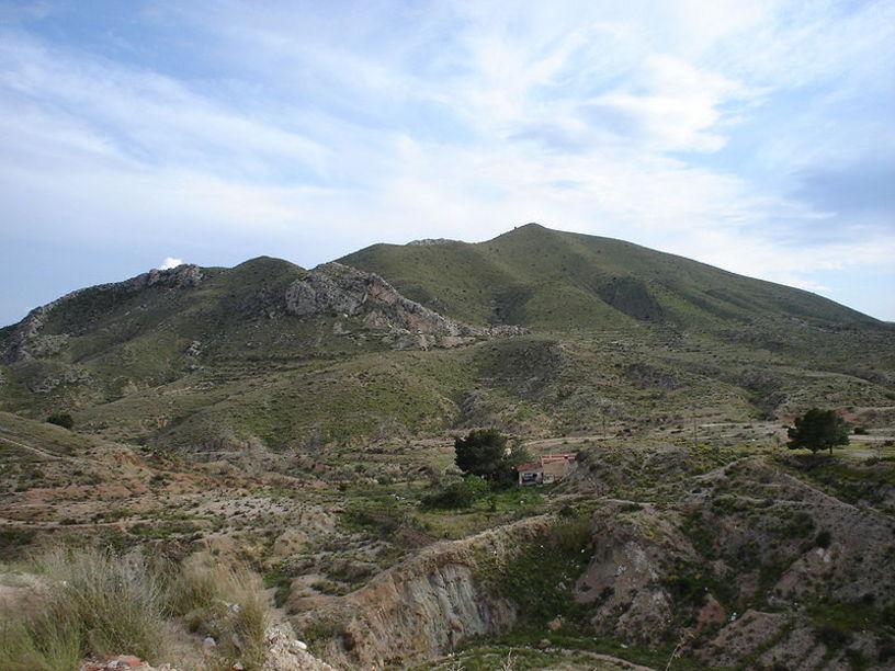 Monte Bolón, por la cara norte, Elda