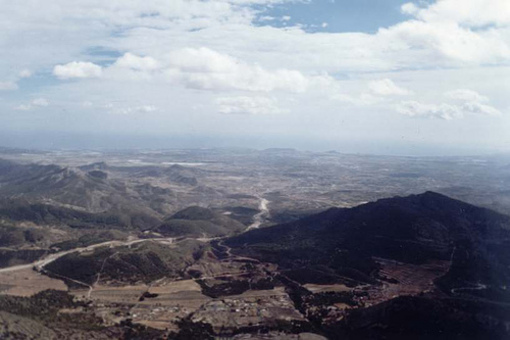 Vista de la Sierra Maigmó