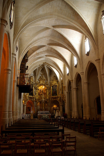 Iglesia Santa Maria por dentro