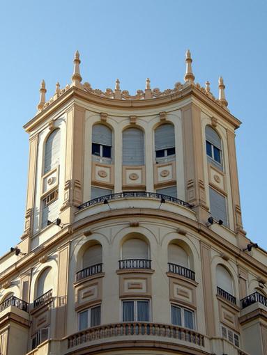 Fachadas de la Rambla de Alicante