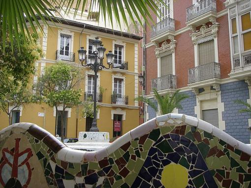 Plaza de Balmis en el Centro Tradicional de Alicante
