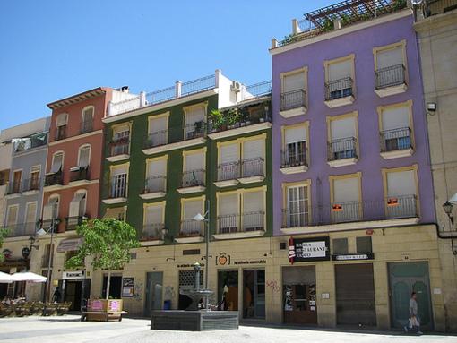 Edificios de la Plaza San Cristobal