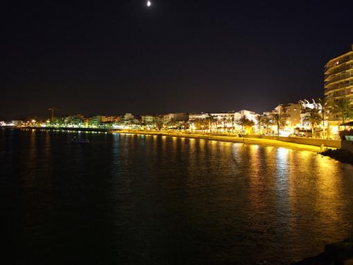 Vista panorámica del Club Naáutico de Jávea
