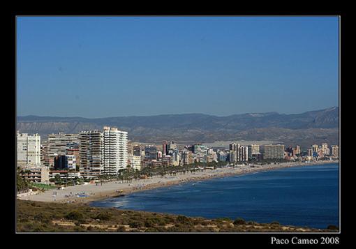 Pisajes d'Alacant: La platja de Sant Joan
