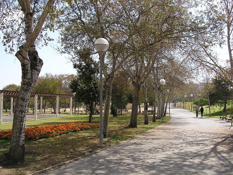 Zona de esparcimiento de la ciudad de Alicante: Parque Lo Morant