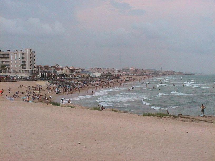 Vista panorámica de las Playas de Torrevieja