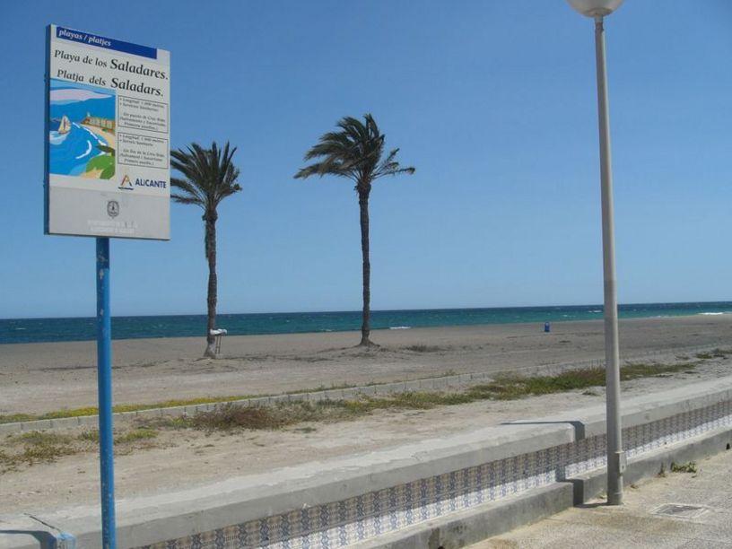 Playa del Saladar en Alicante