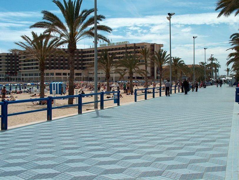 Vista de Explanada España en Alicante
