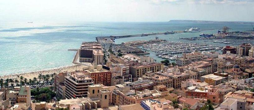 Alicante y su puerto
