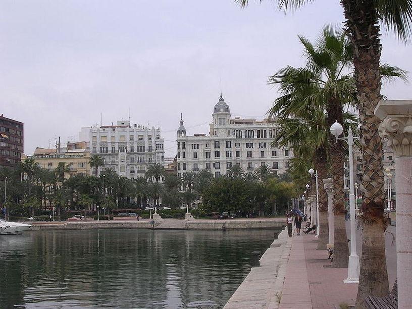 Ciudad de Alicante y sus paisajes