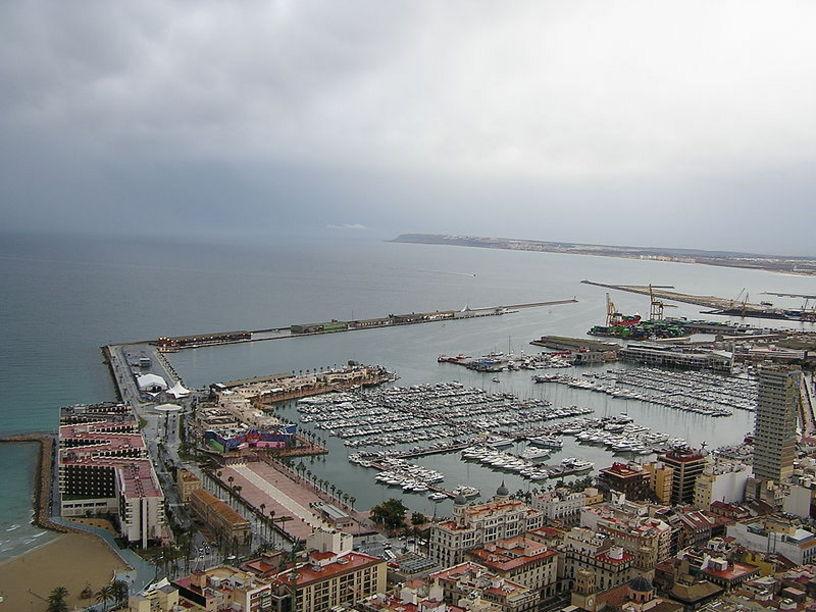 Instalaciones del Puerto de Alicante