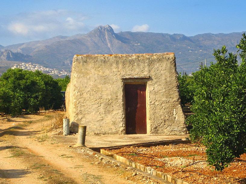 Típica casita de Beniabeirg